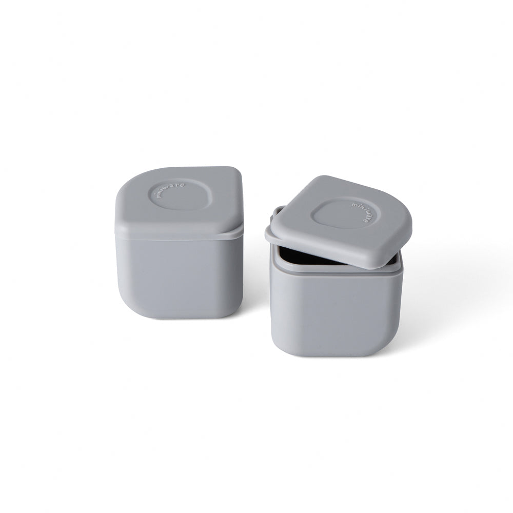 Leakproof Silipods (Set of Two) Grey