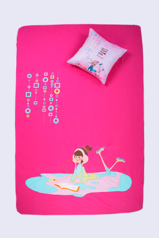 Girls Wanna Have Fun iPod Bed Cover Single