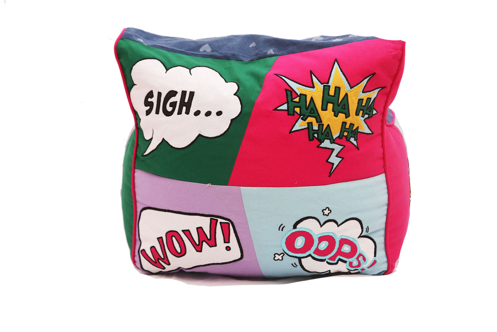 Comic Connection Girls Bean Chair Bag