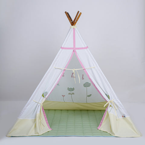 Happy spring Teepee tent