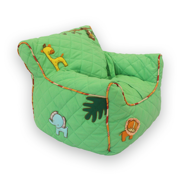 Jungle Safari Quilted BeanChair Cover (Small)