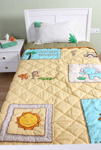Jungle Safari Double Quilt