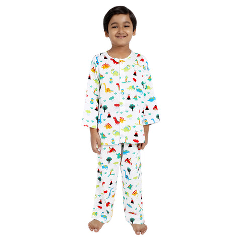Jurassic Print Pure-Cotton Nightsuit