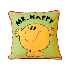 Mr. Happy Cushion Cover