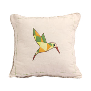 Out in the Woods Bird Cushion Cover