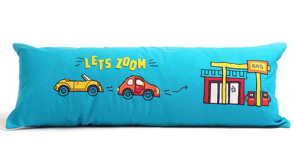 Boys n Toys - Lets Zoom Long Cushion Cover