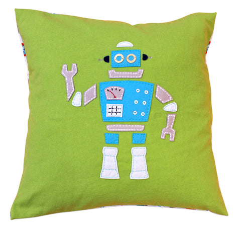Robot Cushion Cover