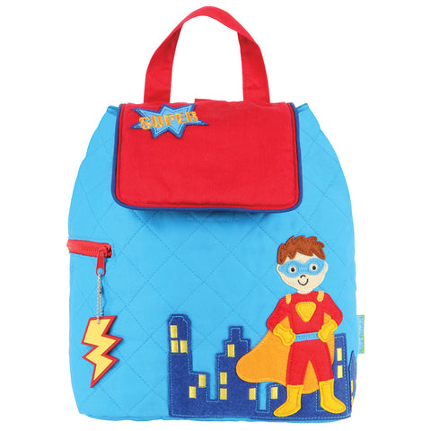 Quilted BackPack Super Hero