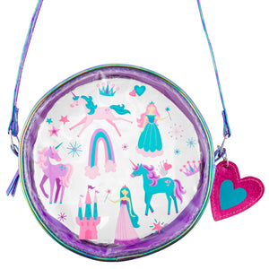Clear Crossbody Purse Princess/UNICORN