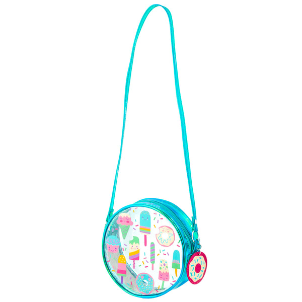 Clear Crossbody Purse SWEETS
