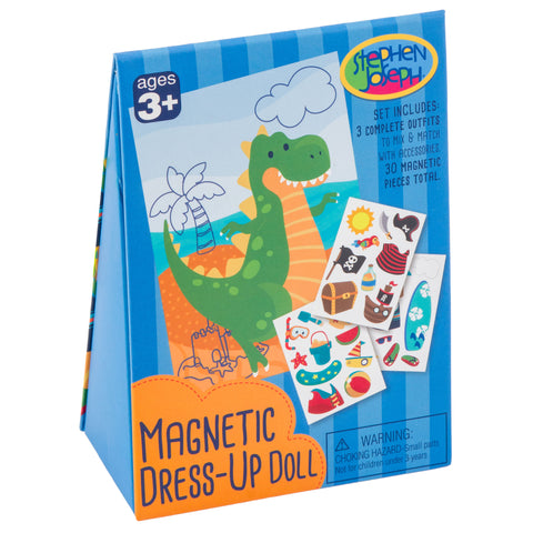 Magnetic Dress-Up Doll Dino