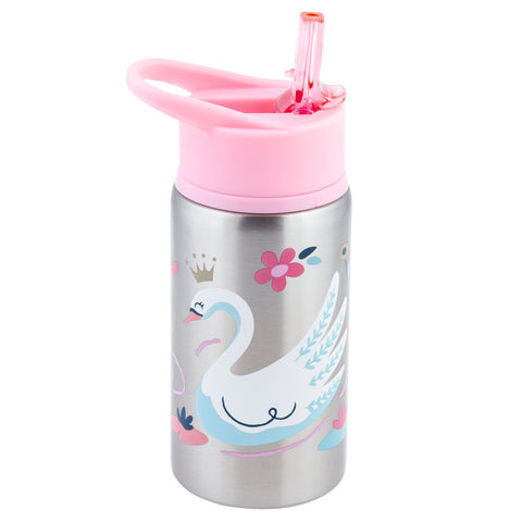 Stainless steel water bottle Swan