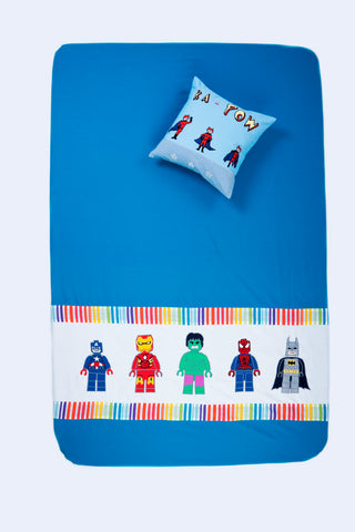 Super hero Bed cover (Single)