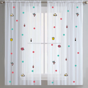 Too Cute -Sheer Curtains