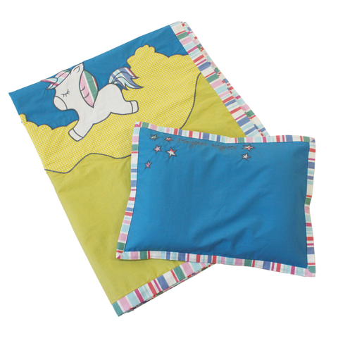 Unicorn Blanket and pillow set