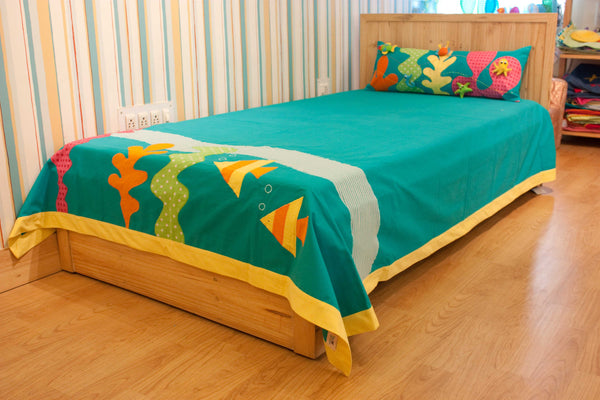 Under the Sea New Bed Cover Single