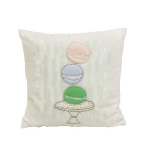 Vintage-Macarons 12 X 12 Cushion Cover