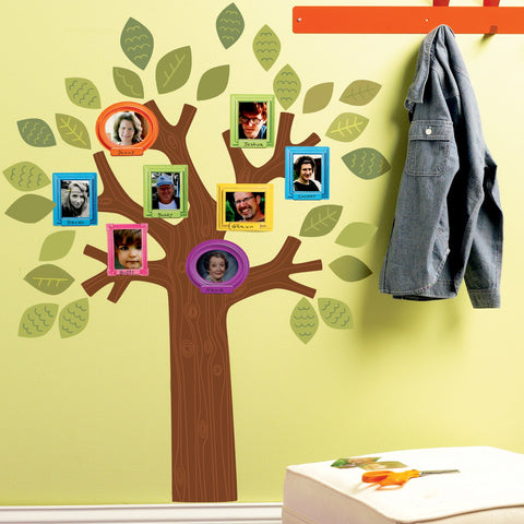 Room Decor Sticker - Fun Family Tree