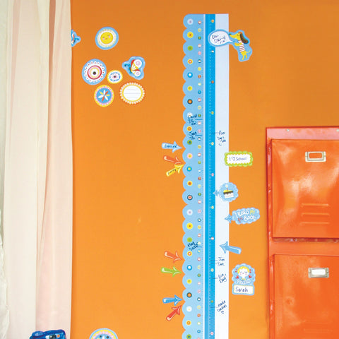 Room Decor Sticker - Dry Erase Growth Sticker Chart