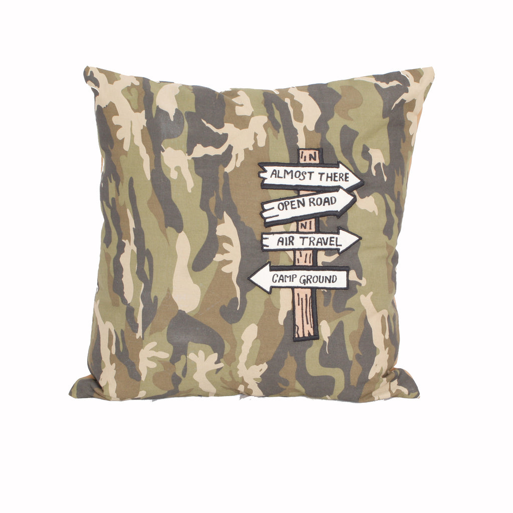 Wanderlust-Direction Cushion cover