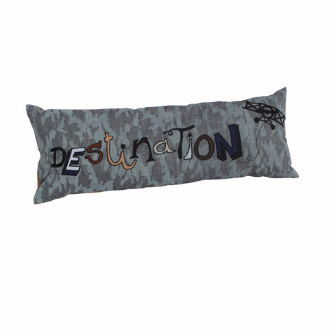 Wanderlust-Destination Long Cushion Cover