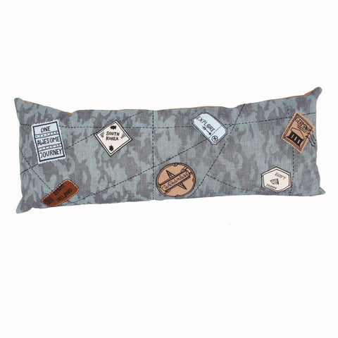 Wanderlust-Travel Long Cushion Cover