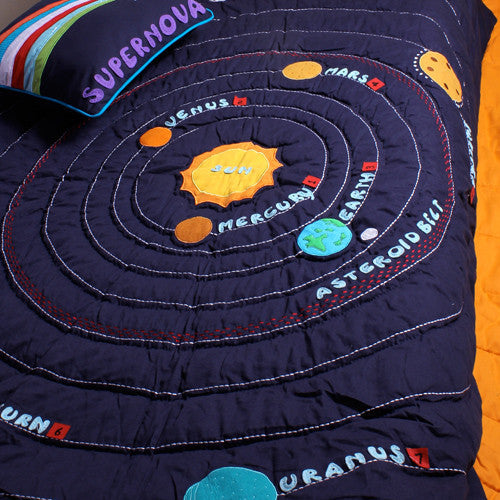 My Solar System Quilt - Single