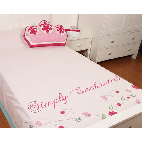 Simply Enchanted - White Collection Bed Cover Single