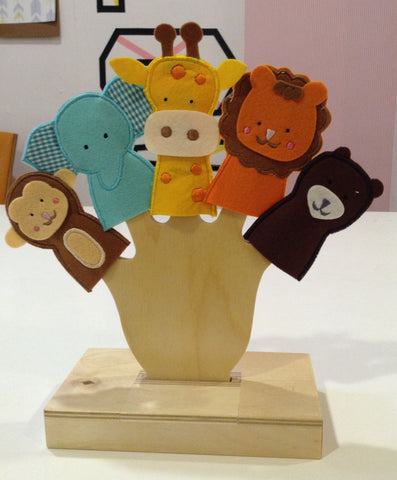 Finger Puppets - Wild Animal