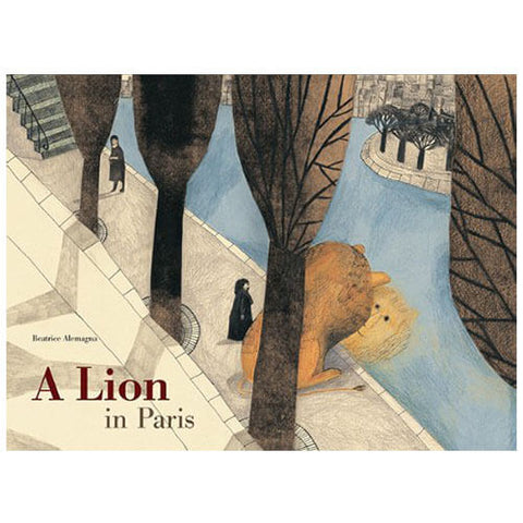 A Lion in Paris by Beatrice Alemagna - Junior Edition  - 1