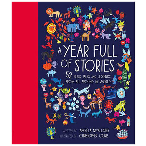 A Year Full Of Stories by Angela McAllister & Christopher Corr - Junior Edition