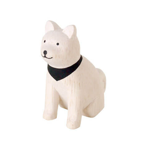 Akita Dog - Polepole Wooden Animal by T-Lab - Junior Edition