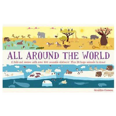 All Around The World: Animal Kingdom by Geraldine Cosneau - Junior Edition  - 1