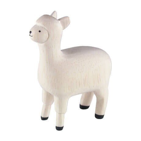 Alpaca - Polepole Wooden Animal by T-Lab - Junior Edition
