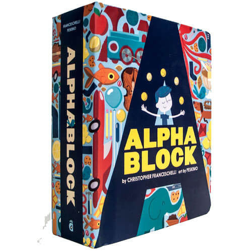 Alphablock By Christopher Franceschelli & Peskimo - Junior Edition