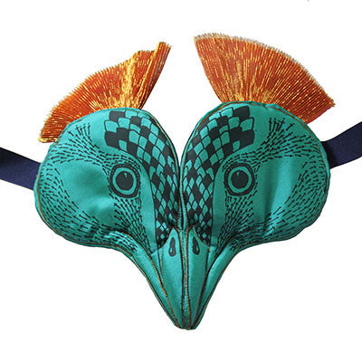 Peacock Headdress by Animalesque - Junior Edition  - 1