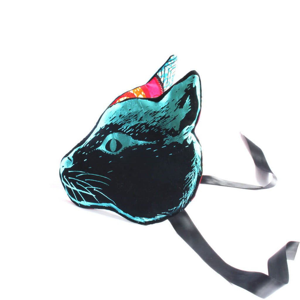 Cat Headdress in Black by Animalesque - Limited Edition - Junior Edition