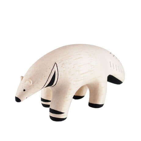 Anteater - Polepole Wooden Animal by T-Lab - Junior Edition