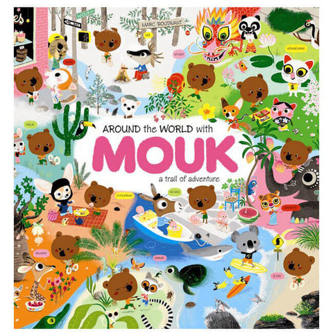 Around The World With Mouk by Marc Boutavant - Junior Edition