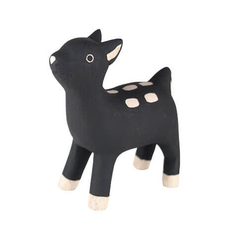 Bambi - Polepole Wooden Animal by T-Lab - Junior Edition  - 1