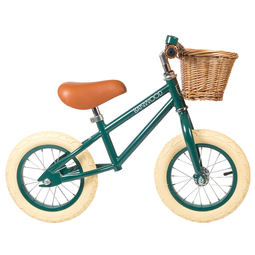 First Go Balance Bike in Green by Banwood - Junior Edition