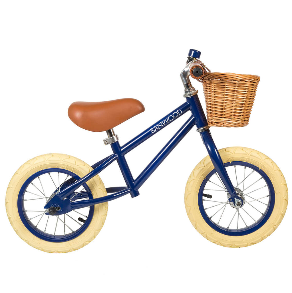 First Go Balance Bike in Navy by Banwood - Junior Edition