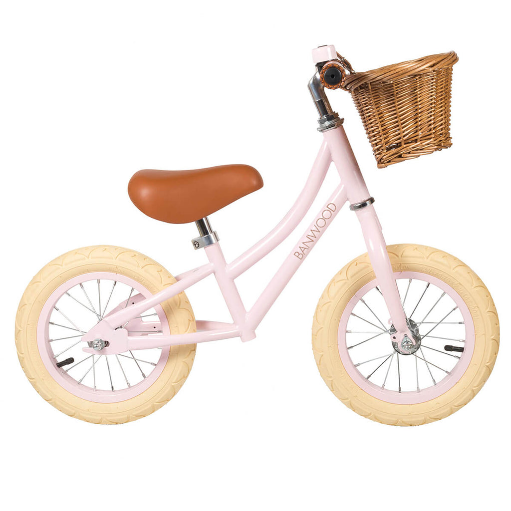 First Go Balance Bike in Pink by Banwood - Junior Edition
