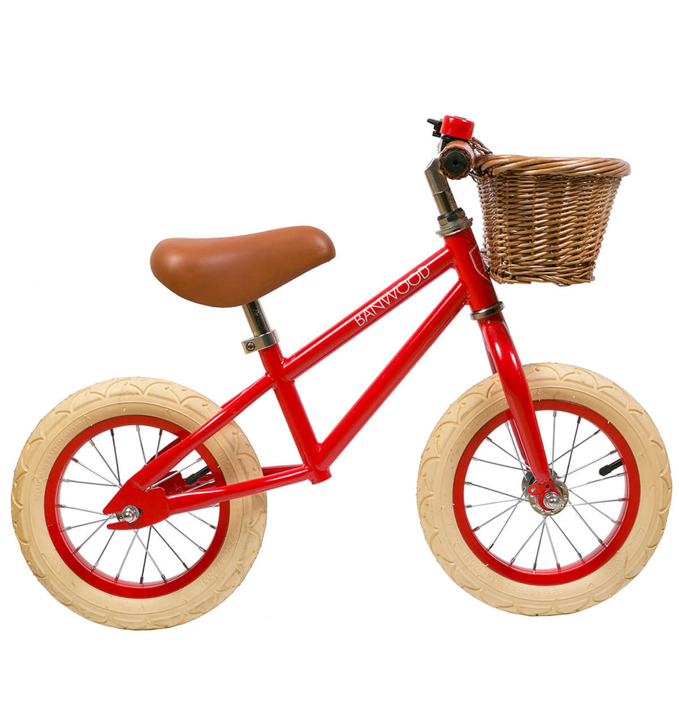 First Go Balance Bike in Red by Banwood - Junior Edition