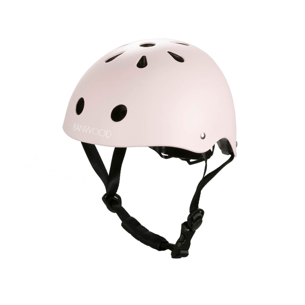 Classic Helmet in Pink by Banwood - Junior Edition