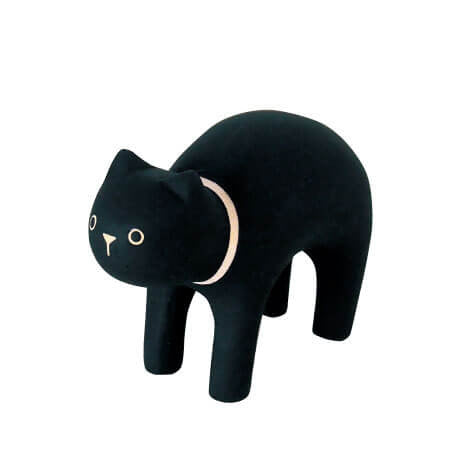 Black Cat - Polepole Wooden Animal by T-Lab - Junior Edition
