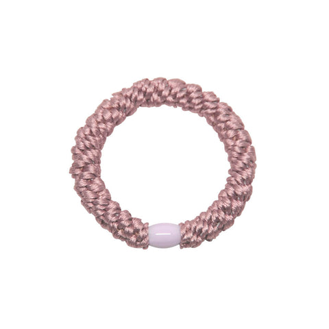 Kknekki Snag Free Hair Band in Dusty Rose by Bon Dep - Junior Edition