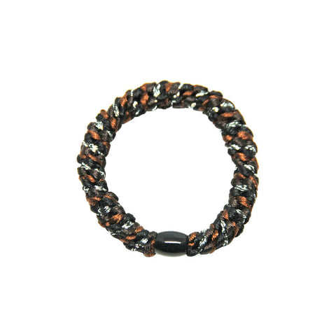 Kknekki Snag Free Hair Band in Missoni Black by Bon Dep - Junior Edition