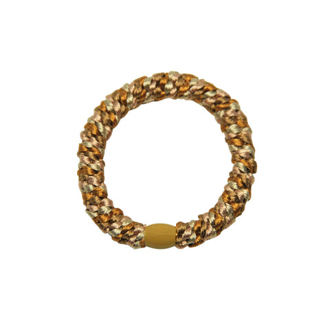 Kknekki Snag Free Hair Band in Missoni Light Gold by Bon Dep - Junior Edition