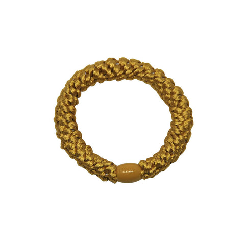 Kknekki Snag Free Hair Band in Mustard by Bon Dep - Junior Edition